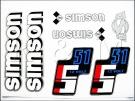 Simson matrica komplett S51